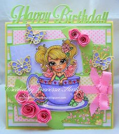 Saffire's Stamping: Enchanted Tea Party