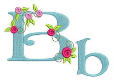 Free alphabet from Bernina, I have all letters in a file 'Embroidery fonts Bernina Rosen' including numbers