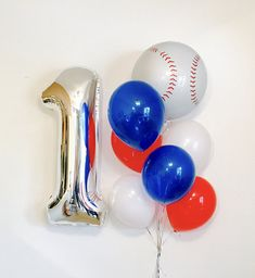 Baseball 1st Birthday, Lil Slugger party, Baseball Balloon, Baseball Birthday, Baseball Orbs, Baseball All Star, Baseball Birthday,Play Ball