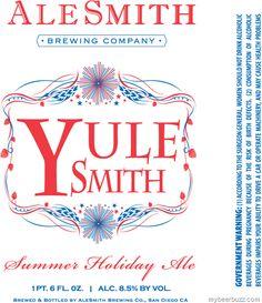 AleSmith YuleSmith Summer Holiday Ale