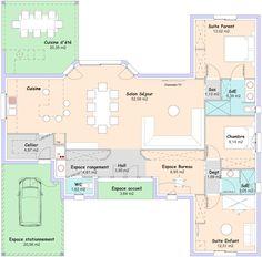 Maison - Horizon - Maisons de la Côte Atlantique - 190000 euros - 122 m2 | Faire construire sa maison