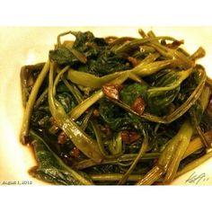 これイイ(^-^) #adobong #kangkong #adobo #food #dinner #philippines #フィリピン #晩ご飯