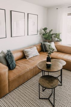 Home Interior Design .Home Interior Design Living Room Sectional, Corner Sectional, Sectional Furniture, Tan Sofa Living Room Ideas, Corner Sofa Living Room, Living Room Decor With White Walls, Modern Living Room Chairs, Furniture For Living Room, Contemporary Living Room Decor Ideas