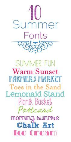 10 summer-fonts
