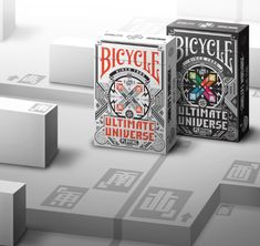 Custom 56 Playing Cards Decks. Design elements of 2D pixel art infused with striking color schemes.