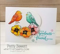 New Card Kit - perfect for Stampin' Blends markers