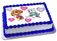 Hey, I found this really awesome Etsy listing at https://www.etsy.com/listing/266281839/skye-everest-paw-patrol-edible-cake