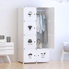 Tespo Portable Clothes Closet Wardrobe, DIY Modular Stora... https://smile.amazon.com/dp/B06XTS1JQF/ref=cm_sw_r_pi_dp_x_kDkCzb6X72ZRG