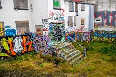 Reykjavik has a very large problem with graffiti around the city, luckily for me I love graffiti and this was some of the best I have seen. || #AlexTonettiPhotography #Photography