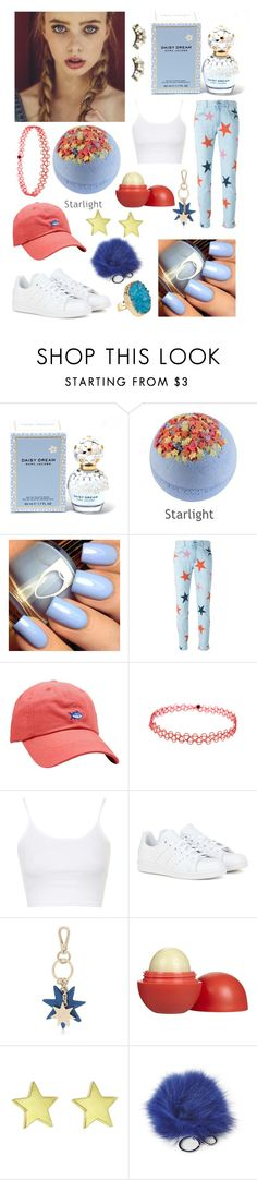 """""""starlight fairy"""" by issaybella ❤ liked on Polyvore featuring Marc Jacobs, STELLA McCARTNEY, Southern Tide, Topshop, adidas, Roger Vivier, Eos, Adrienne Landau, Helix & Felix and women's clothing"""