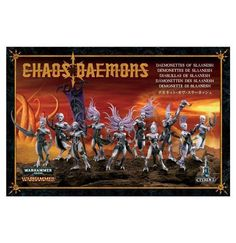 40K Starter Sets 183472: Warhammer Daemonettes Of Slaanesh X 2 Boxes New In Box Free Shipping -> BUY IT NOW ONLY: $50.9 on eBay!
