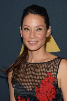 Lucy Liu arrives at the Academy of Motion…