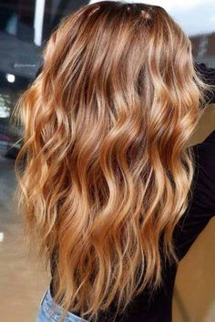 Golden Blonde Balayage for Straight Hair - Honey Blonde Hair Inspiration - The Trending Hairstyle Hair Color Balayage, Hair Highlights, Balayage Hair Caramel, Honey Balayage, Auburn Highlights, Natural Highlights, Haircolor, Long Shag Haircut, Honey Hair