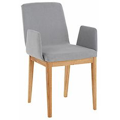 Home affaire Stuhl »Giro«, mit Armlehne Accent Chairs, Dining Chairs, Furniture, Medium, Home Decor, Kitchen Dining Rooms, Chair, Wood, Food