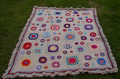 Ravelry: Garden State Afghan pattern by Julie Yeager