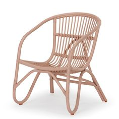 Peach Anthea Rattan Chair | New Arrivals | Living - Me & My Trend