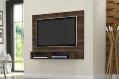 """Painel IPANEMA - Altura: 900 mm - Largura: 1200 mm -  Profundidade: 265 mm - Diferenciais - Para TVs de até 47"""" - Acabamento Amadeirado Touch"""