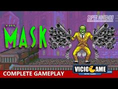 🎮 The Mask (Super Nintendo) Complete Gameplay: http://wp.me/p90oS-PX #viciogame