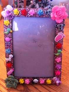 Baby Picture Frame by DazzlingCases on Etsy, $15.00