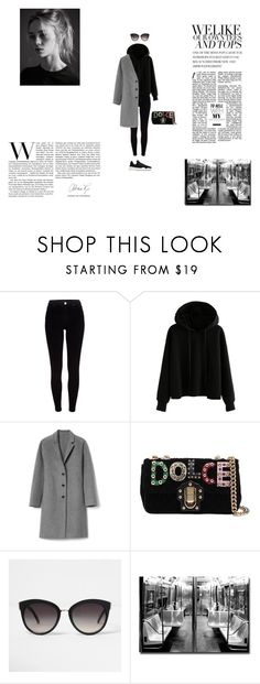 """mood"" by kinga167 on Polyvore featuring River Island, Gap, Dolce&Gabbana and Trademark Fine Art"