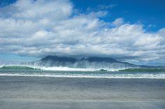 Isle of Rum - Isle of Rum from Eigg  Looks like a good wave!