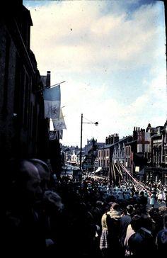 Standishgate - church walks 1964