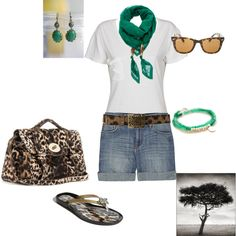 Out of Africa,   created by delrae77 on Polyvore #fashion