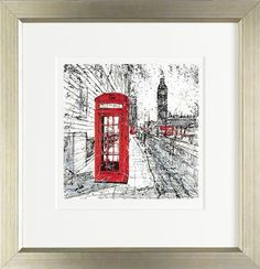 Heart of London by Paul Kenton Available from Westover Gallery £250