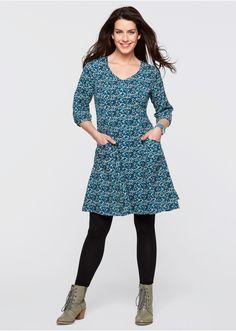 Sukienka z rękawami 3/4 Rękawy zapinane • 119.99 zł • Bon prix