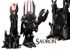 """""""Ash nazg durbatulûk, ash nazg gimbatul, Ash nazg thrakatulûk agh burzum-ishi krimpatul.""""-Sauron Hello! Welcome to my set. This is my project based on the dark lord: Sauron an..."""