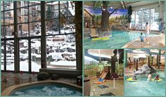 What to do in Mont Tremblant with young kids - Aquaclub La Source
