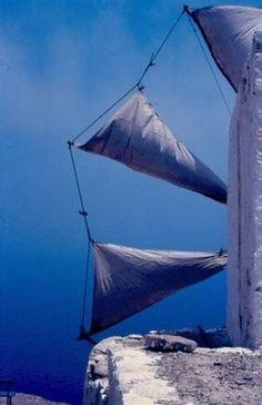 ~ 'Sails In The Wind' Karpathos Island, Greece ~ Paros, Santorini, Karpathos Greece, Greek Blue, Greece Travel, Crete, Beautiful Islands, Greek Islands, Artists