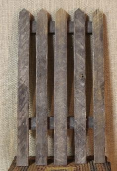 Picket Fence from Pallets