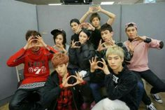 GOT7 with Sunmi and Lena