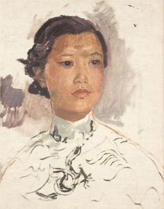 Portrait of a Chinese Woman - Augustus John