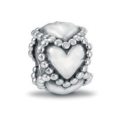 Pandora Silver Linked Hearts Charm 790448
