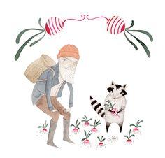 Turnip Thief by Julianna Swaney