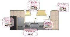 Simsational Designs: Shaker Kitchen-UPDATED