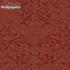 Themes of beauty and romance are wonderfully realised in this transcendent damask wallpaper from Thibaut.  Featuring an extraordinary motif that has taken traditional influences to create a lavish modern pattern, Roma is a stand out feature wallpaper.
