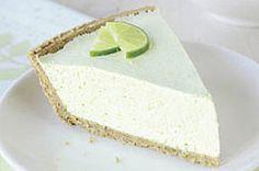 Tarta chifón de limón verde receta