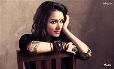 Shraddha Kapoor Indian Traditional Style Face Closeup HD Wallpaper,Indian Actress Wallpaper And Images,Shraddha Kapoor Wallpaper,Celebrity Images