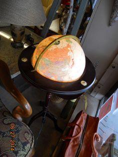 Great glowing Globe