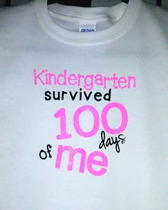 Hey, I found this really awesome Etsy listing at https://www.etsy.com/listing/267870731/custom-kids-shirt-kindergarten-survived