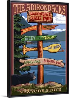 Large Letter Scenes Roosevelt National Forest Colorado 36x54 Giclee Gallery Print, Wall Decor Travel Poster