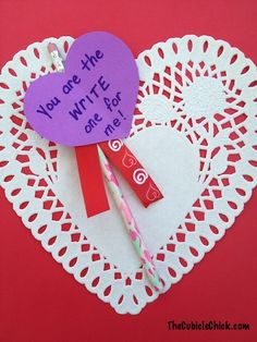 DIY Valentine Cards that are cheap and easy to make!