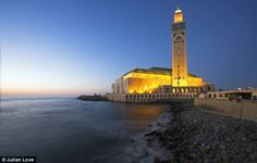 Hassan II Mosque in Morocco