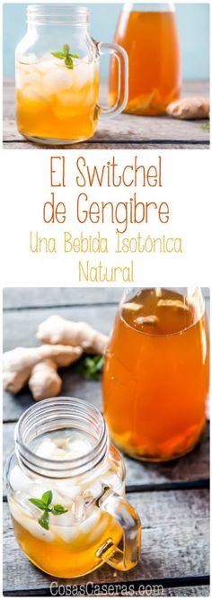 Una bebidas isotónica natural de los más refrescantes, el switchel de jengibre, recupera su popularidad, en parte debido a sus beneficios para la salud, y en parte por ser delicioso y tan hidratante.