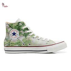 Converse Customized Adulte - chaussures coutume (produit artisanal) Floral Vintage size 33 EU olgevU