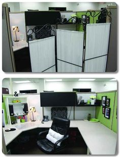 give your cubicle office or work space a makeover for under 50 step by step tutorials via pinterest