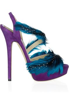 I love purple! MY SENTIMENTS EXACTLY...must have these shoes!